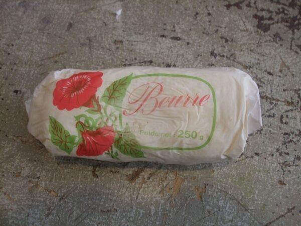 Beurre doux fermier-LOCAL-250g (non bio)