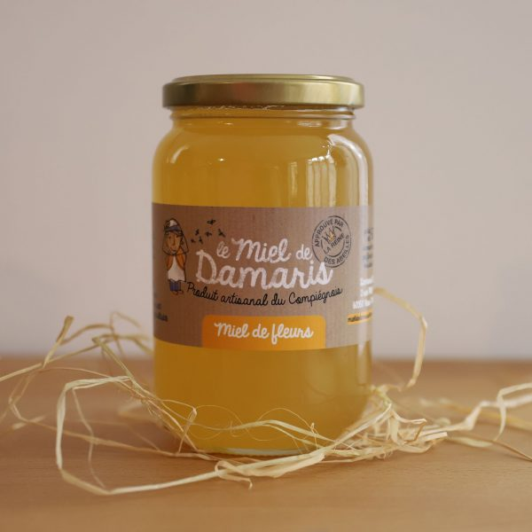 Miel de Fleurs-Damaris Pot 500g Local